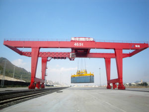 Weihua rail mounted gantry crane sales