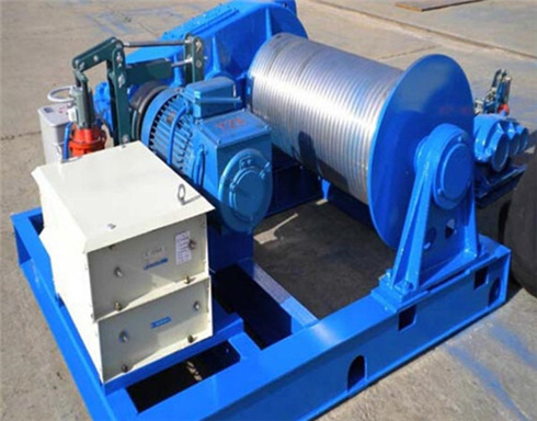 cable pulling winch from supplier