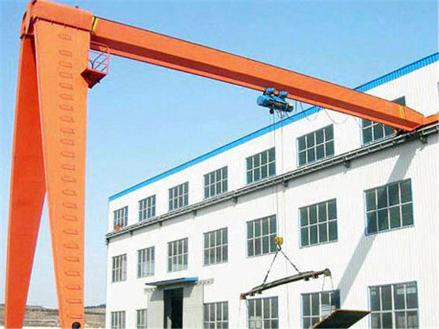 Single 10-ton semi gantry crane cost